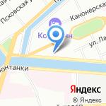 Всех скорбящих радость на карте Санкт-Петербурга