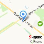 ЛиговЪ на карте Санкт-Петербурга