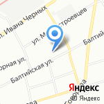 Учебная студия красоты на карте Санкт-Петербурга