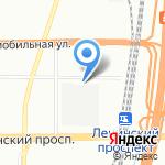 Спецтехника на карте Санкт-Петербурга
