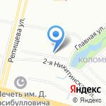 ЭНТ на карте Санкт-Петербурга