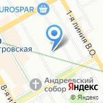TRX на карте Санкт-Петербурга