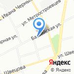 Социальный дом на карте Санкт-Петербурга