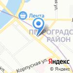 Контехпром на карте Санкт-Петербурга