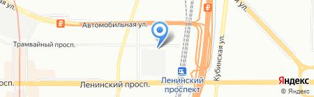 Ковчег на карте Санкт-Петербурга
