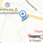 Салон красоты Татьяны Невской на карте Санкт-Петербурга