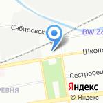 Средняя общеобразовательная школа №53 на карте Санкт-Петербурга