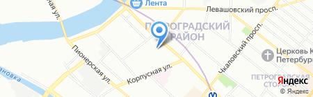 Школа кукольного мастерства Галины Ишимикли на карте Санкт-Петербурга