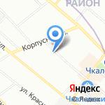 ПетроЭлектроКомплекс на карте Санкт-Петербурга