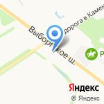 ТЕКНОВИКС на карте Санкт-Петербурга