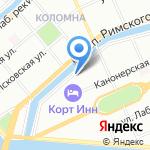 Flora-Riot на карте Санкт-Петербурга