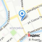 Зоологический институт РАН на карте Санкт-Петербурга