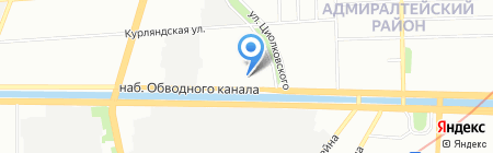 Юнитонер СПБ на карте Санкт-Петербурга