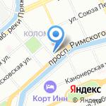 Биотехпрогресс на карте Санкт-Петербурга