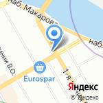 Портовый трактир на карте Санкт-Петербурга