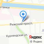 Городское сурдологическое отделение на карте Санкт-Петербурга