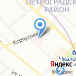 Общество специалистов медицинских нитевых технологий на карте Санкт-Петербурга