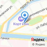 Light ladies на карте Санкт-Петербурга