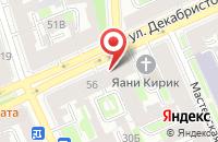 Схема проезда до компании Танагра в Санкт-Петербурге
