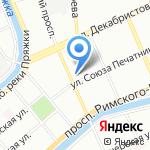Кафе-кондитерская на карте Санкт-Петербурга