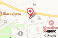 Схема проезда до компании НЕВСКИЙ РЕДУТ в Порошкино