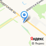 Комфортный дом на карте Санкт-Петербурга
