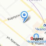 ЭТИМ на карте Санкт-Петербурга