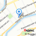 Благо на карте Санкт-Петербурга