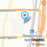 Метрополь на карте Санкт-Петербурга