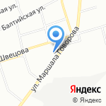 ЮСИ на карте Санкт-Петербурга