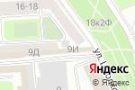 Схема проезда до компании Арси-мебель в Санкт-Петербурге