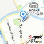 Центр содействия семейному воспитанию №1 на карте Санкт-Петербурга