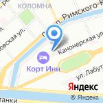 Средняя общеобразовательная школа №234 на карте Санкт-Петербурга
