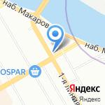 Первый правовой центр судебной помощи на карте Санкт-Петербурга