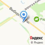 БауМастер на карте Санкт-Петербурга