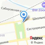 Вестпрофи на карте Санкт-Петербурга