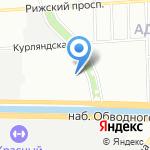 АКМА на карте Санкт-Петербурга