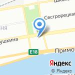 СПИК на карте Санкт-Петербурга