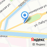 Mary Jay на карте Санкт-Петербурга