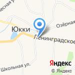 Администрация сельского поселения Юкковское на карте Санкт-Петербурга