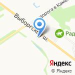 OpenFire на карте Санкт-Петербурга