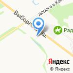 Globsan на карте Санкт-Петербурга
