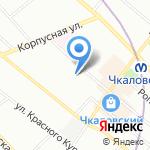 Entrepot на карте Санкт-Петербурга