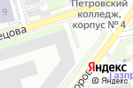 Схема проезда до компании Арбел в Санкт-Петербурге