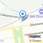 Дом молодежи Приморского района на карте Санкт-Петербурга