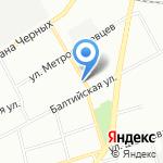 Удача на карте Санкт-Петербурга