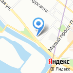 Special Barbershop на карте Санкт-Петербурга