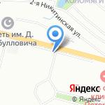 Магазин напитков на карте Санкт-Петербурга