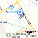 Государственный гидрологический институт на карте Санкт-Петербурга