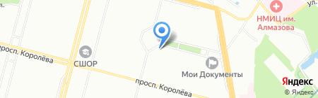 X-Zone на карте Санкт-Петербурга